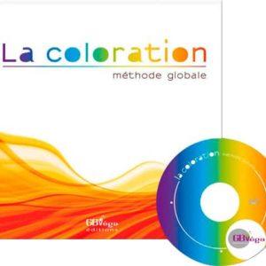 Méthode globale pour la coloration des cheveux, livre + DVD par Culture Coiffure