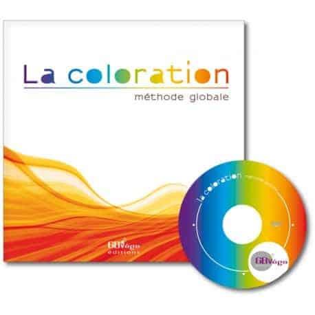 Couverture du livre La coloration methode globale CAP BP