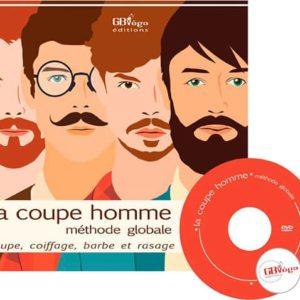 Formation pour apprendre à couper les cheveux et tailler les barbes des hommes. Livre et DVD par Culture Coiffure