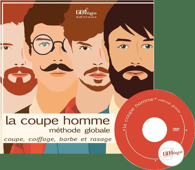 Couverture du livre La coupe homme methode globale (livre+DVD)
